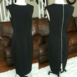 Brand New Black zipper back express dress